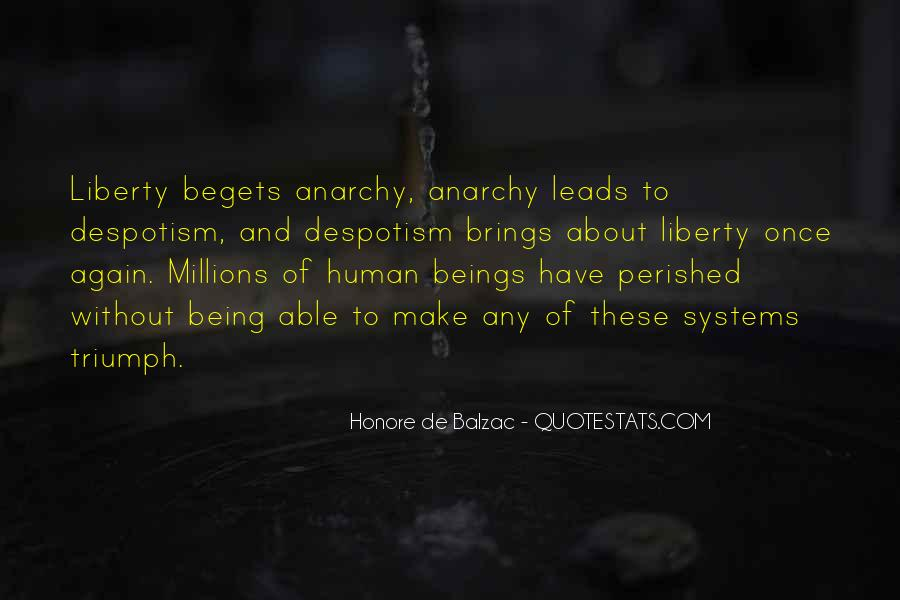 Quotes About Anarchy And Liberty #1219687