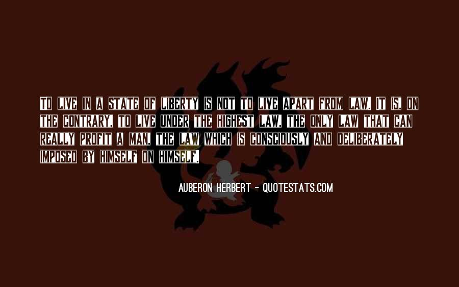 Quotes About Anarchy And Liberty #1607872