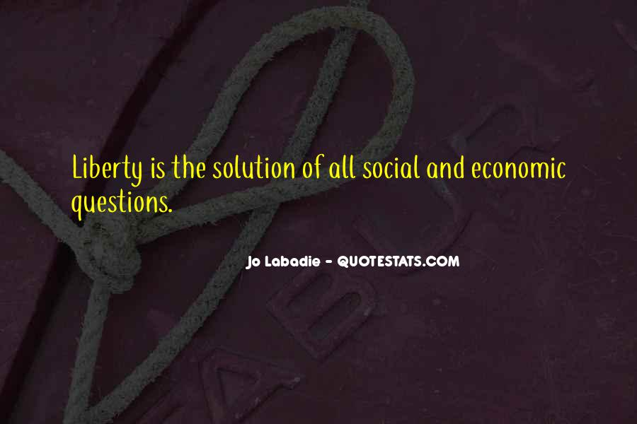Quotes About Anarchy And Liberty #839457