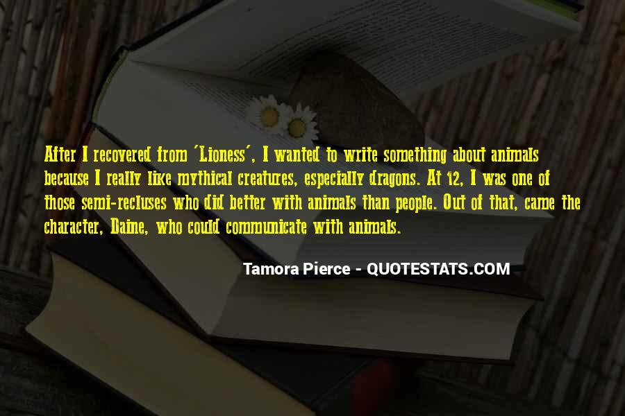 Quotes About Mythical Creatures #764278