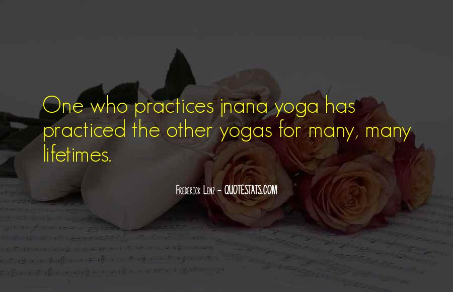 Quotes About Jnana Yoga #1796880