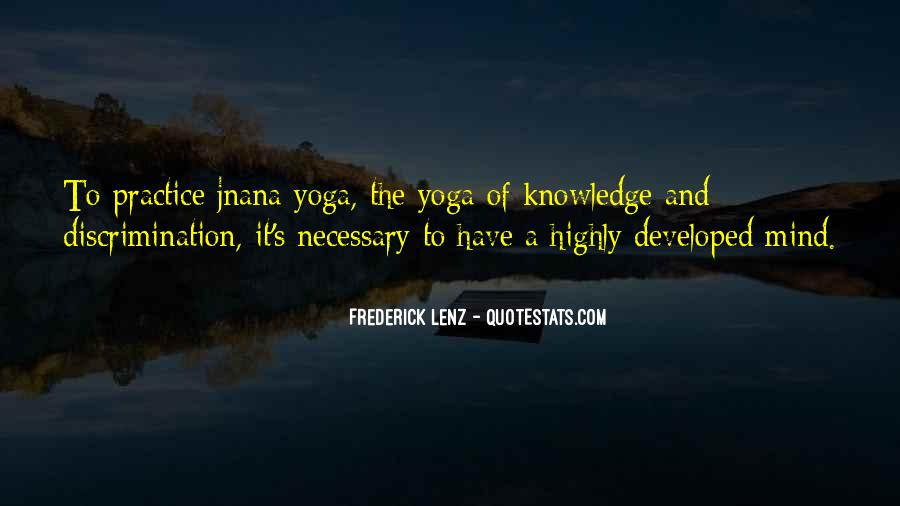 Quotes About Jnana Yoga #517622