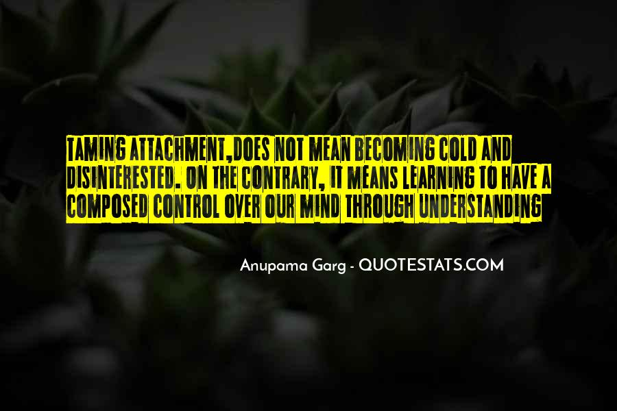 Quotes About Attachment To Someone #38652