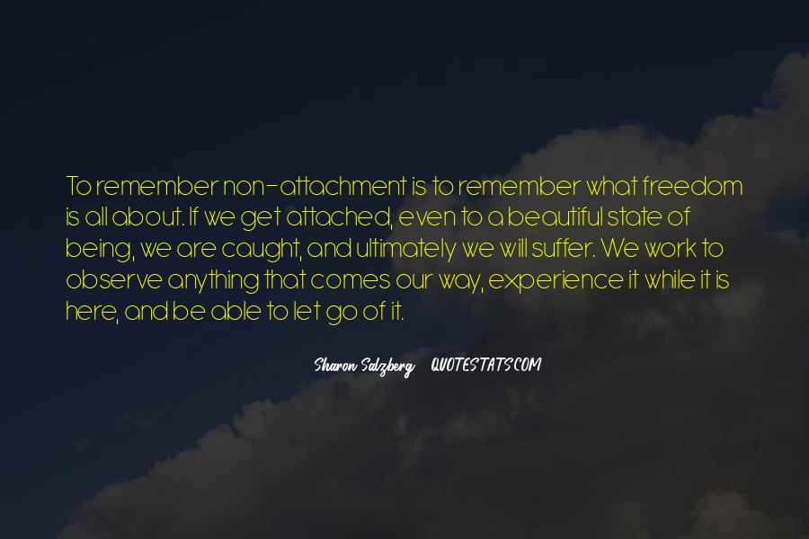 Quotes About Attachment To Someone #65928