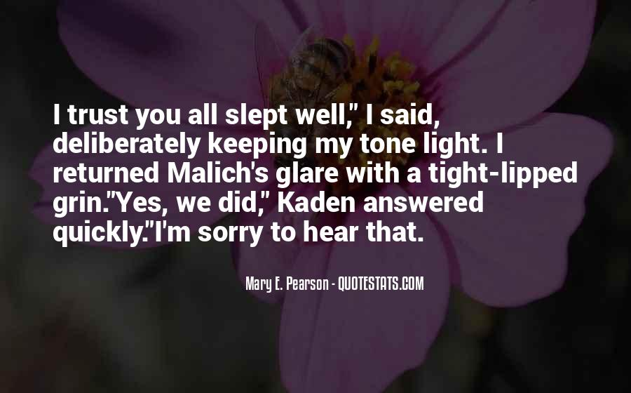 Quotes About Glare #155499