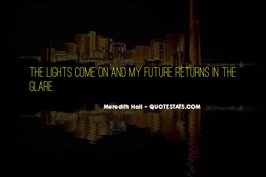 Quotes About Glare #340522