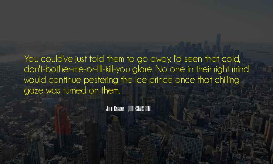 Quotes About Glare #441310