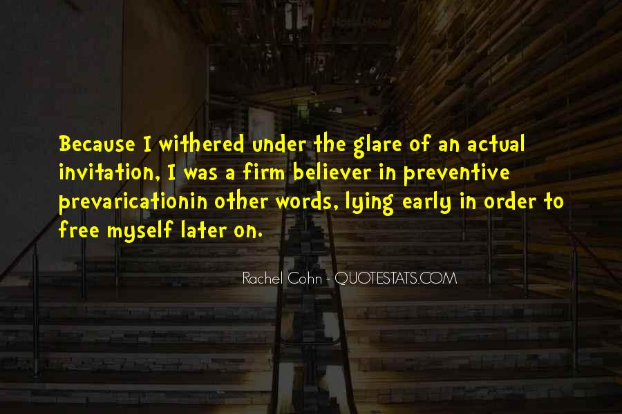 Quotes About Glare #615192