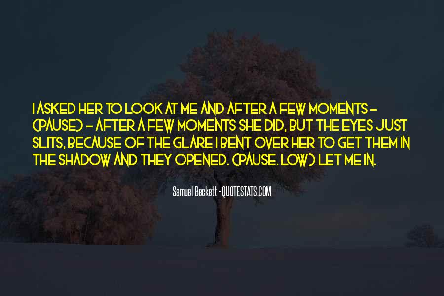Quotes About Glare #97802