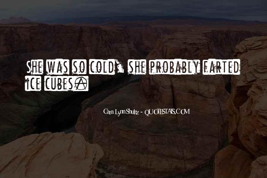 Quotes About Ice Cubes #1683642
