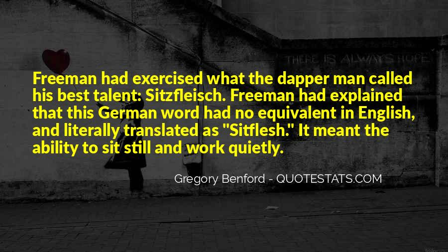 Quotes About Dapper #1513421