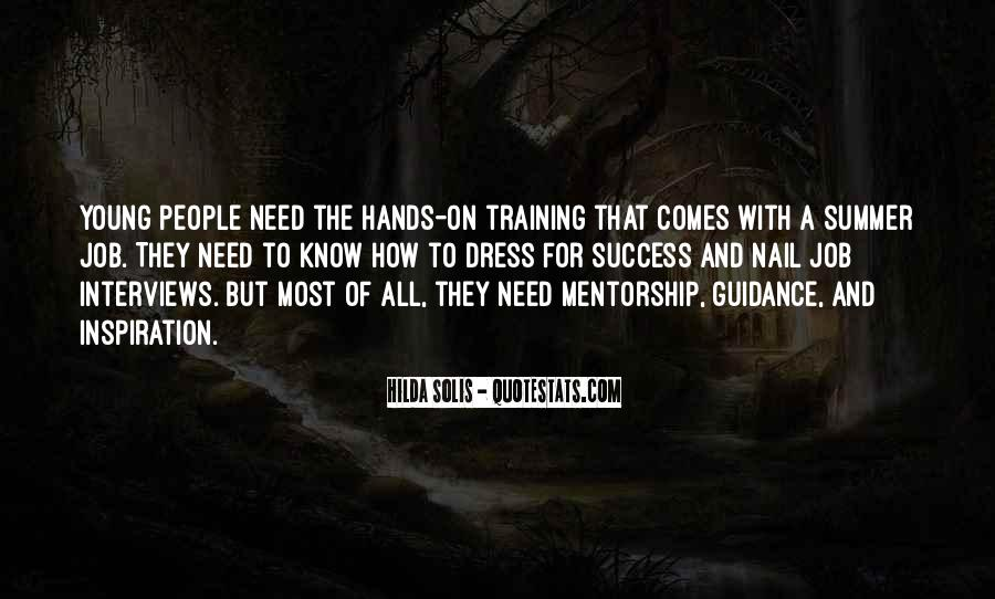 Quotes About Training And Success #1319099