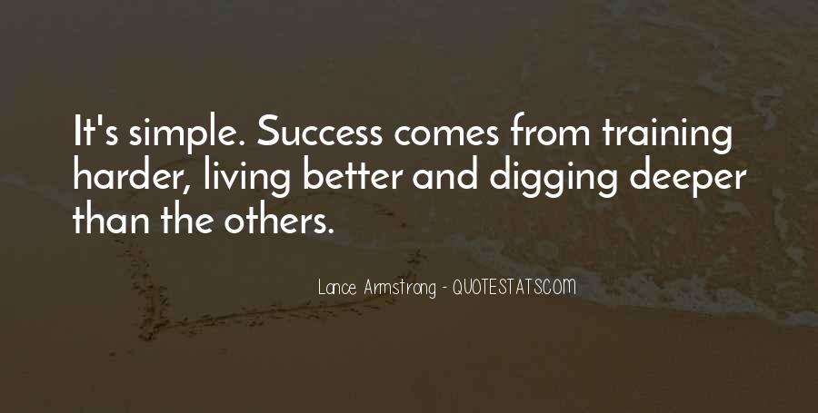 Quotes About Training And Success #1520175