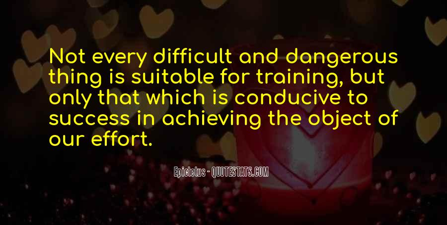 Quotes About Training And Success #1693440