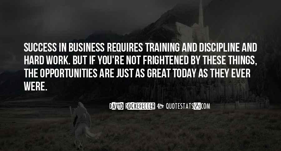 Quotes About Training And Success #1735381