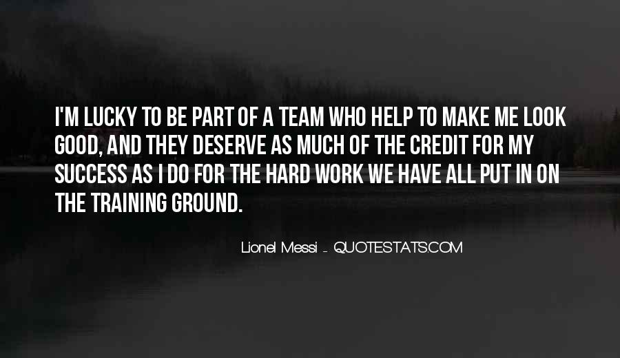 Quotes About Training And Success #400833