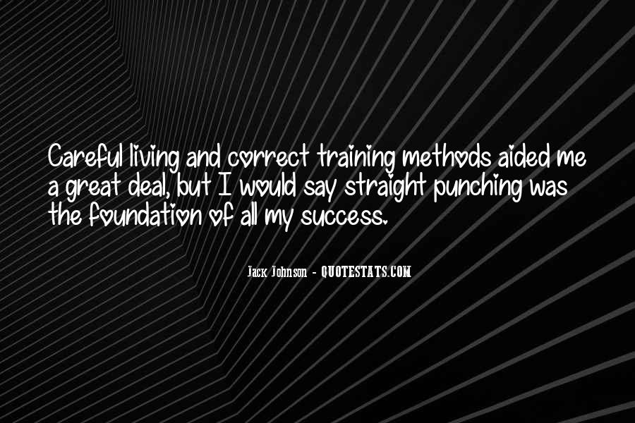Quotes About Training And Success #663781
