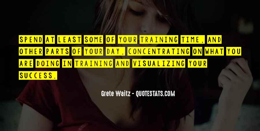 Quotes About Training And Success #668394