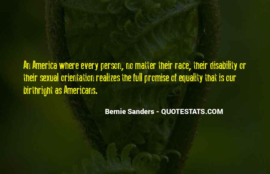 Quotes About Disability Equality #1710010