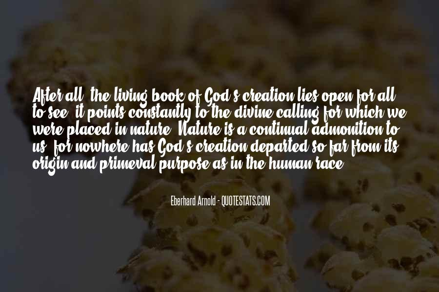 Quotes About God Calling Us #1027494