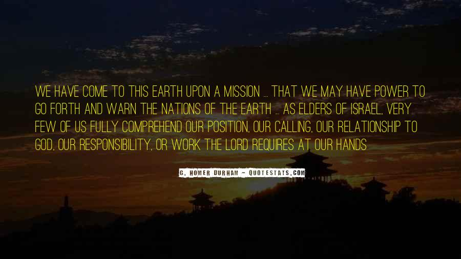 Quotes About God Calling Us #110011