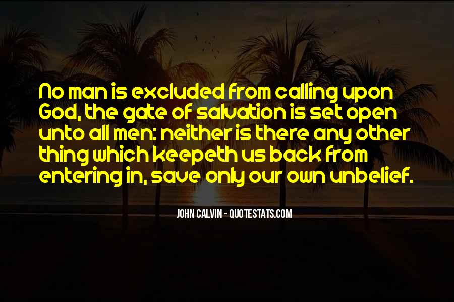 Quotes About God Calling Us #1230255