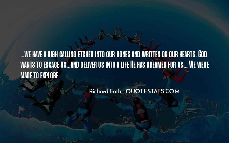 Quotes About God Calling Us #1250338