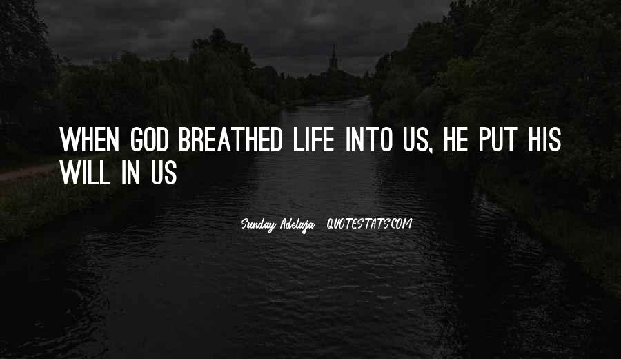 Quotes About God Calling Us #1531138