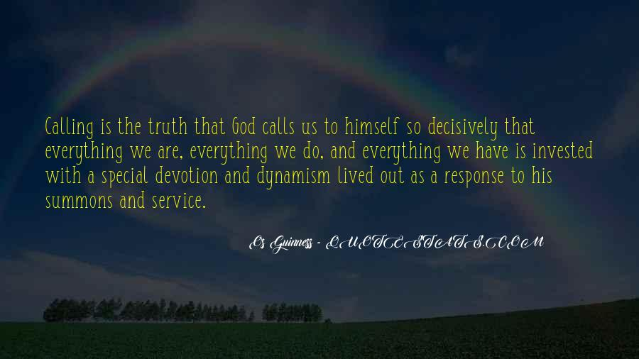 Quotes About God Calling Us #1613249