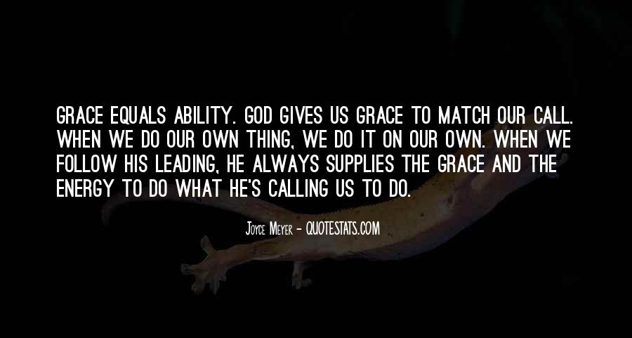 Quotes About God Calling Us #1795394