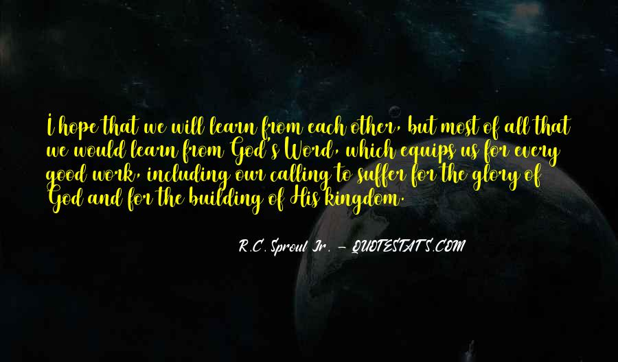 Quotes About God Calling Us #849329