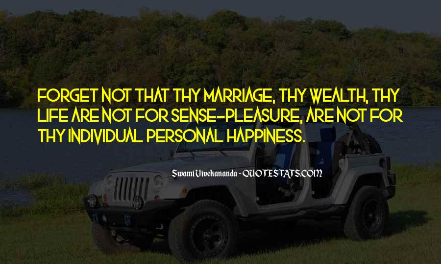 Quotes About Happiness In Marriage Life #100833