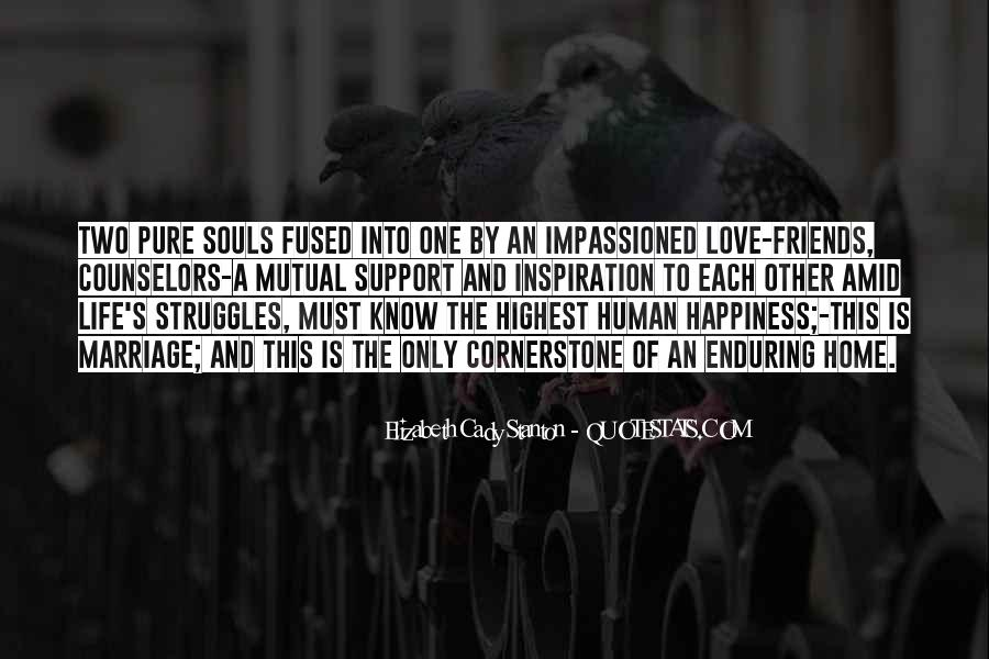 Quotes About Happiness In Marriage Life #1093962
