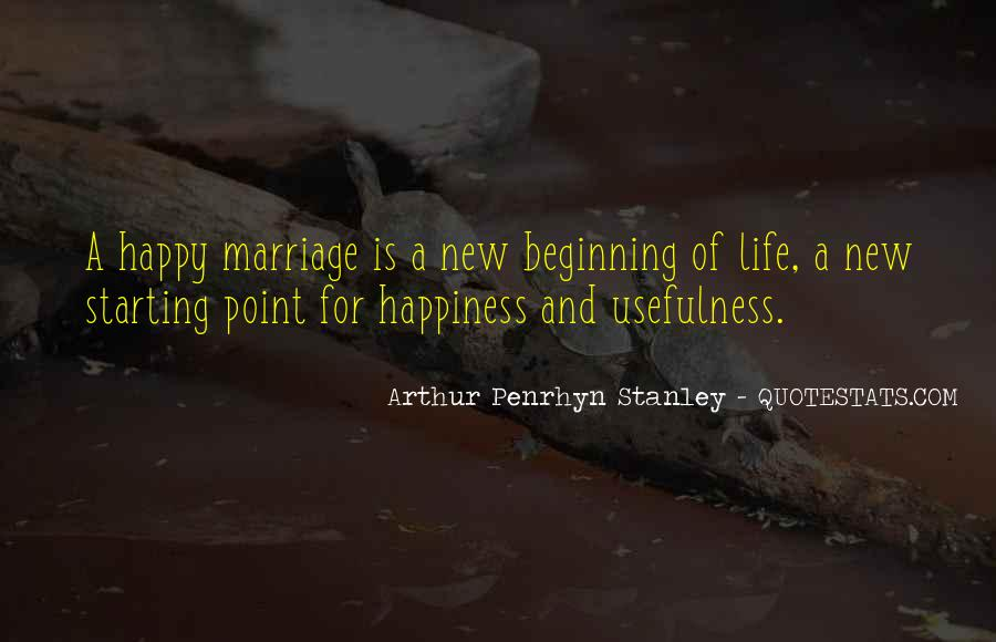 Quotes About Happiness In Marriage Life #1147781
