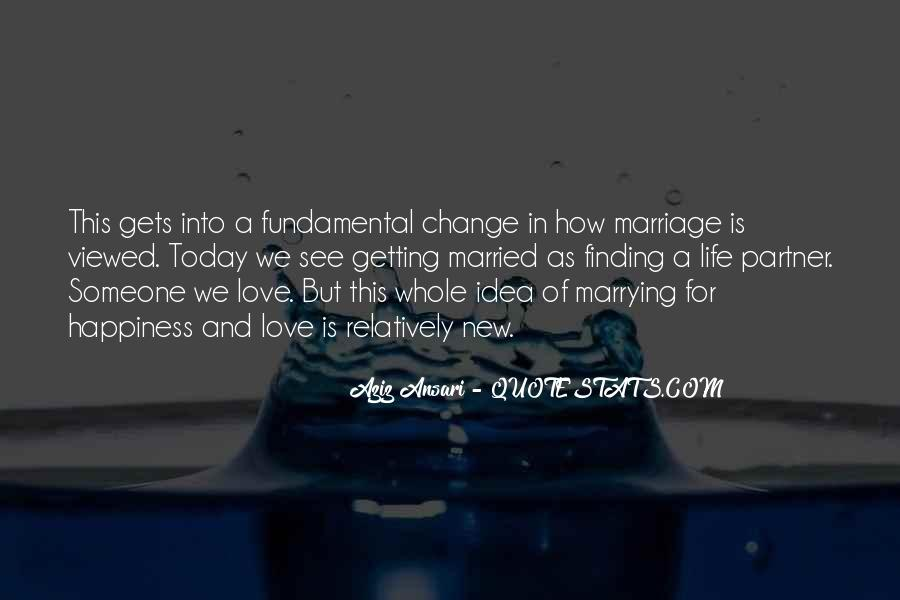 Quotes About Happiness In Marriage Life #1308506