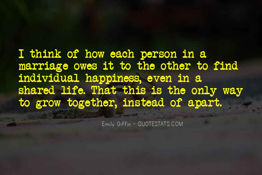 Quotes About Happiness In Marriage Life #1627753