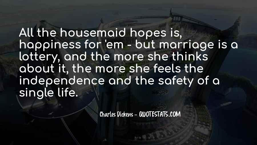 Quotes About Happiness In Marriage Life #1633820