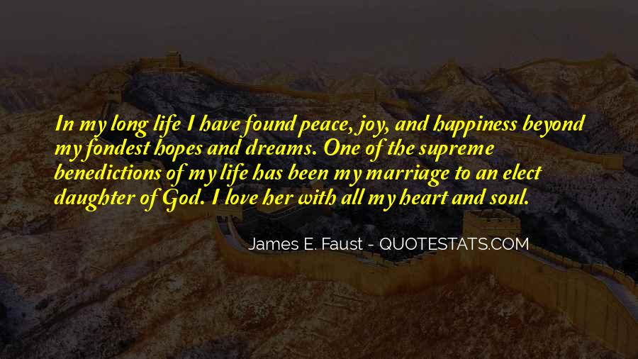Quotes About Happiness In Marriage Life #25921