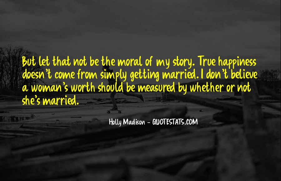 Quotes About Happiness In Marriage Life #383573