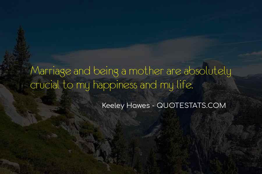 Quotes About Happiness In Marriage Life #56189