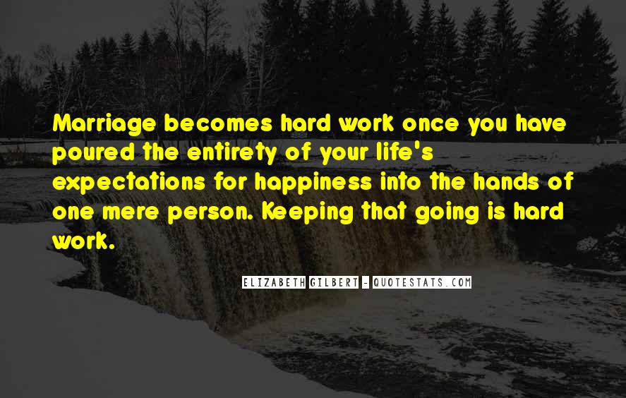 Quotes About Happiness In Marriage Life #65041