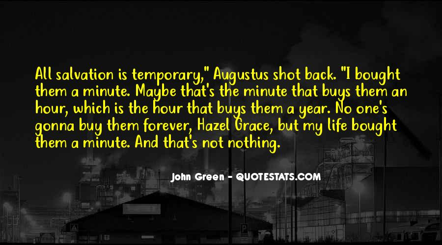 Quotes About Hazel And Augustus #518738