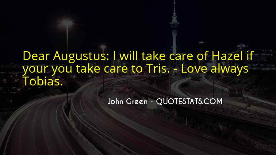 Quotes About Hazel And Augustus #785482