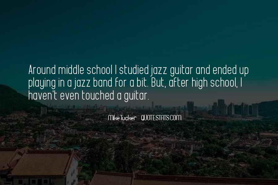 Quotes About Middle School Band #93494