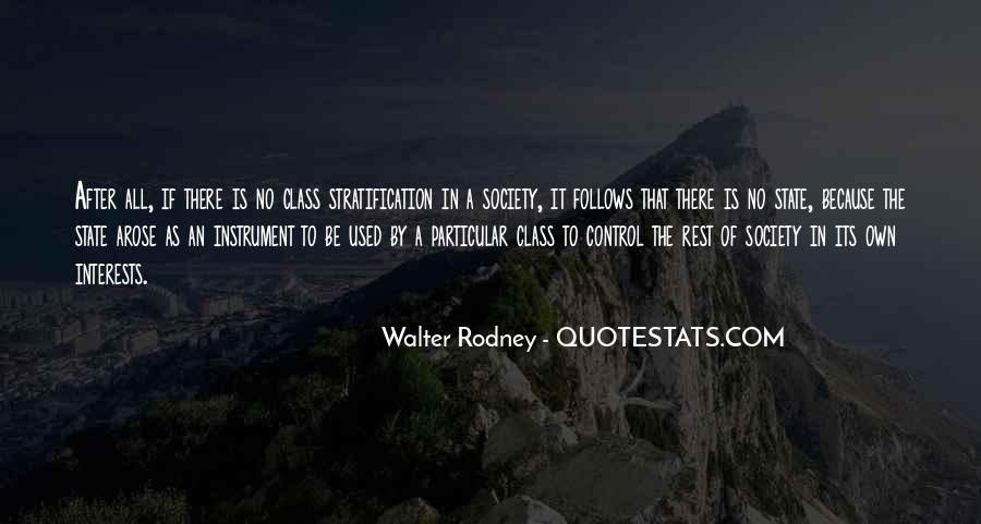 Quotes About Stratification #1831754