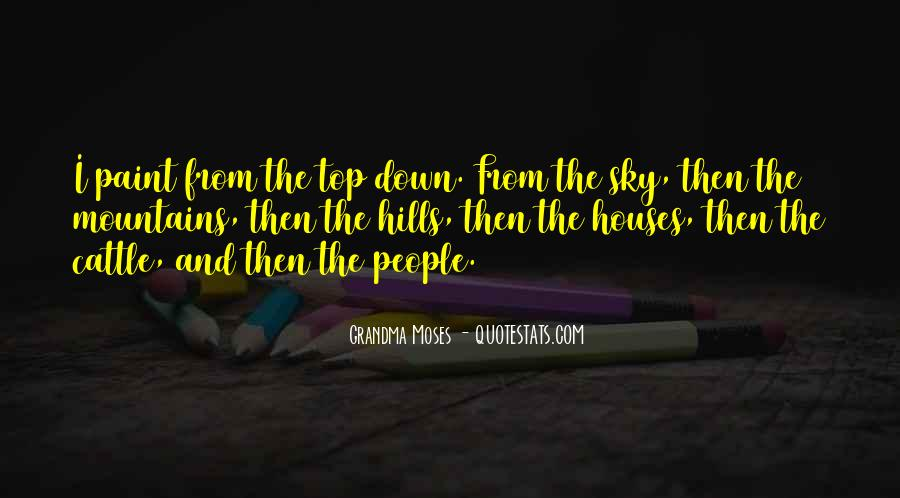 Quotes About Top Down #260414