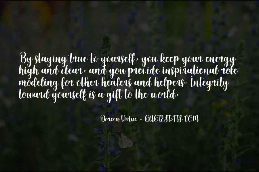 Quotes About Staying To Yourself #1350489