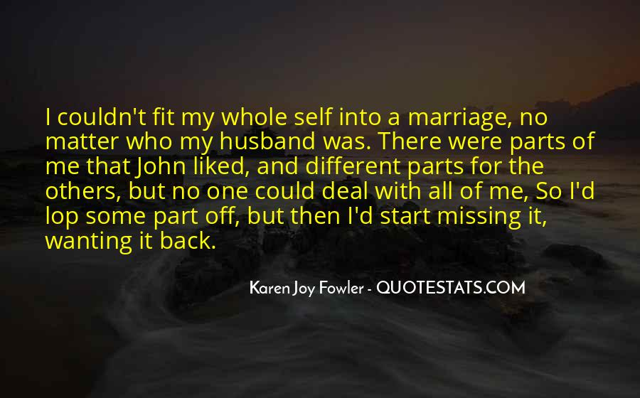 Quotes About Missing My Husband #1380357