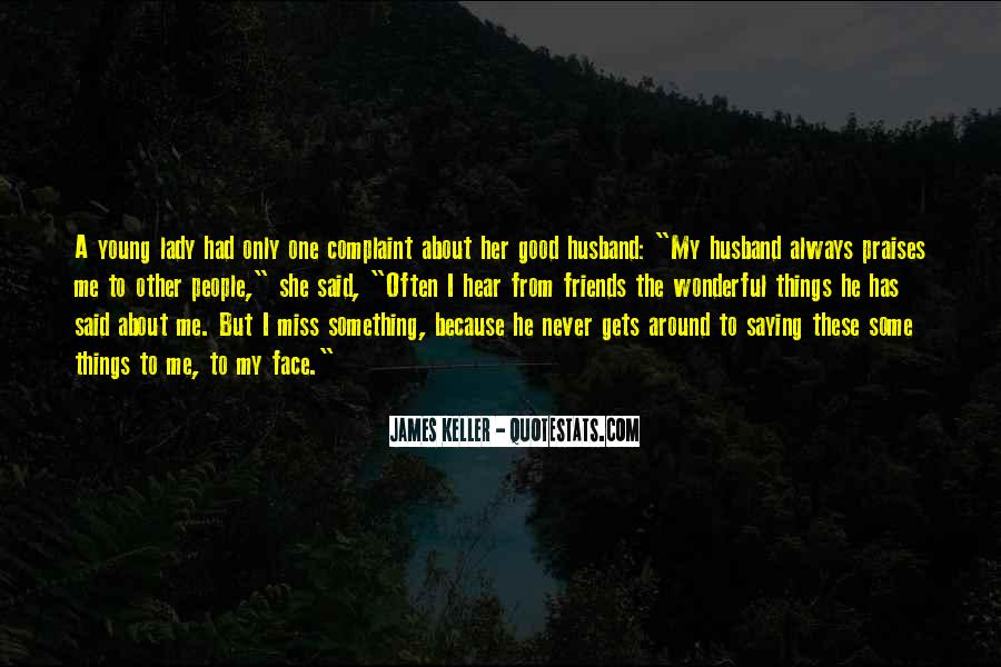 Quotes About Missing My Husband #433715