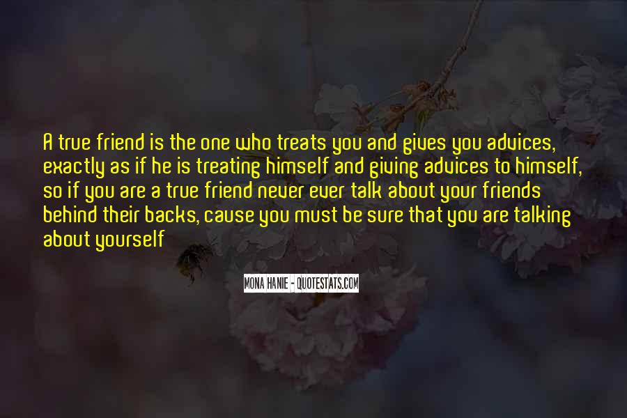 Quotes About Talking Behind Others Backs #484266